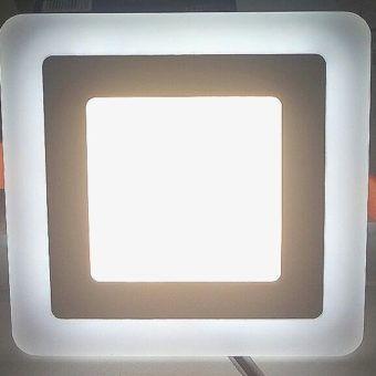 Ультратонкие LED панели квадратные truEnergy с декоративной подсветкой