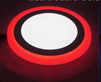 Ультратонкие LED панели круглые truEnergy с декоративной подсветкой 3