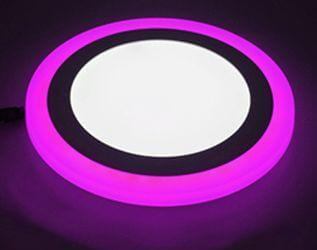 Ультратонкие LED панели круглые truEnergy с декоративной подсветкой 4