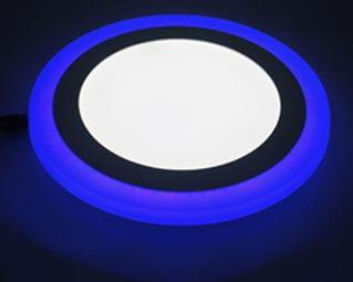Ультратонкие LED панели круглые truEnergy с декоративной подсветкой 5