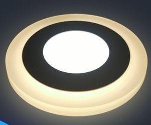 Ультратонкие LED панели круглые truEnergy с декоративной подсветкой 1