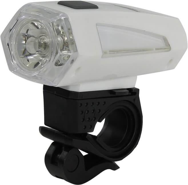 Светодиодная велофара белая 1 LED (3W ) 3*AAA Smartbuy
