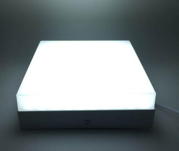 Светильник светодиодный накладной квадратный TruEnergy, 4000К 1