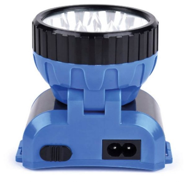 Аккумуляторный налобный фонарь LED, синий 1