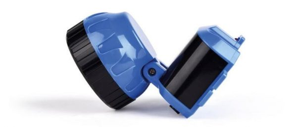 Аккумуляторный налобный фонарь LED, синий 2