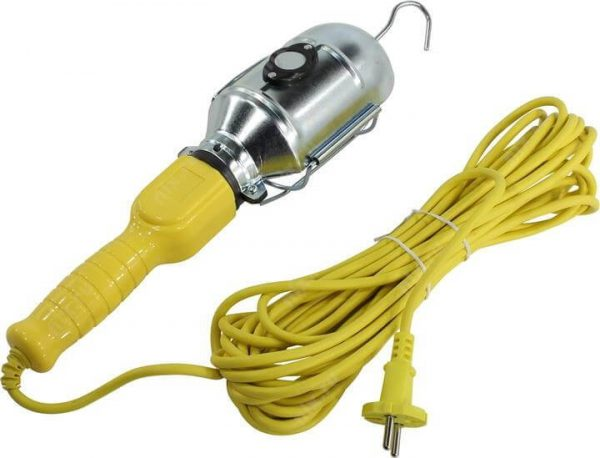Светильник переноска, цоколь E27, с проводом и неодимовым магнитом 1