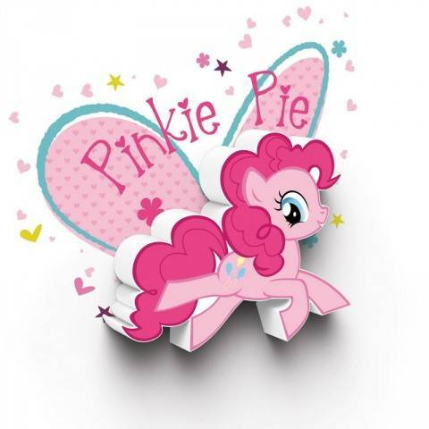 Светильник 3D MLP Mini Pinkie Pie
