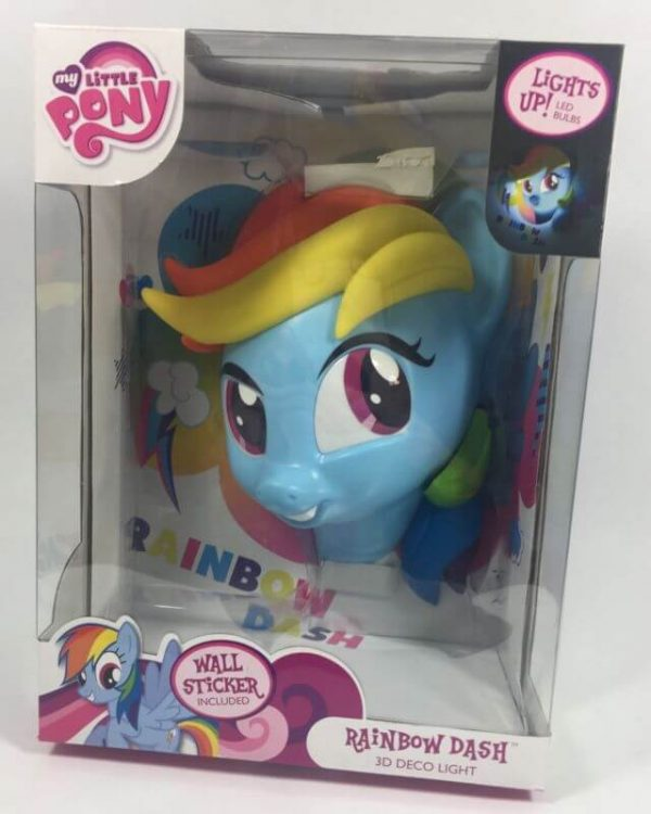Светильник 3D MLP Rainbow Dash