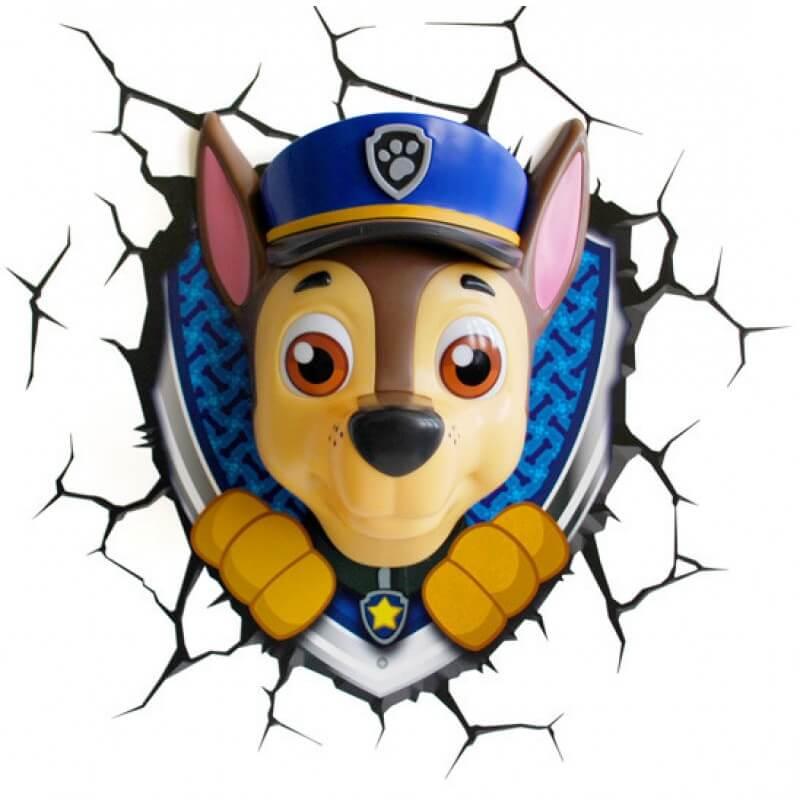 Светильник 3D Paw Patrol Chase