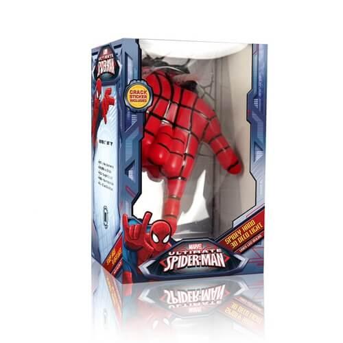 Светильник 3D Spiderman Hand 1
