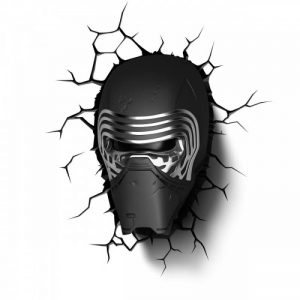Светильник 3D Star Wars Lead Villian Helmet