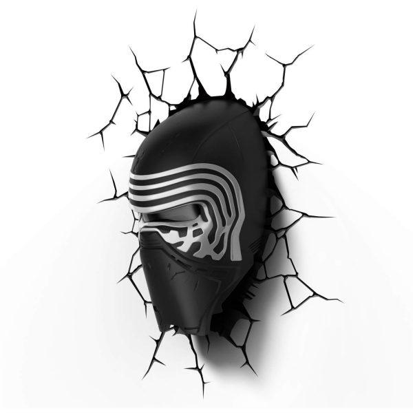 Светильник 3D Star Wars Lead Villian Helmet 1