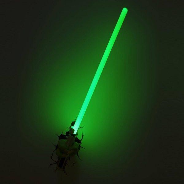 Светильник 3D Star Wars Yoda Saber 1