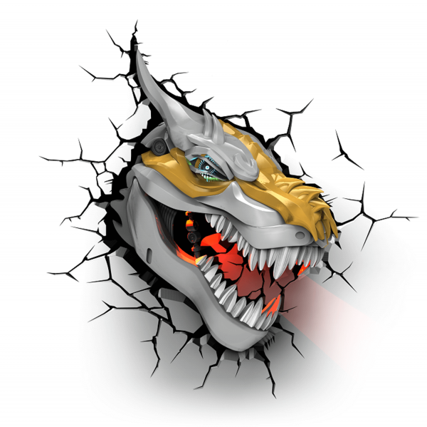 Светильник 3D TRNSFMR Grimlock