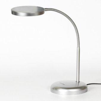 Светодиодный наст. светильник (LED) Smartbuy 7W/NW/Sil