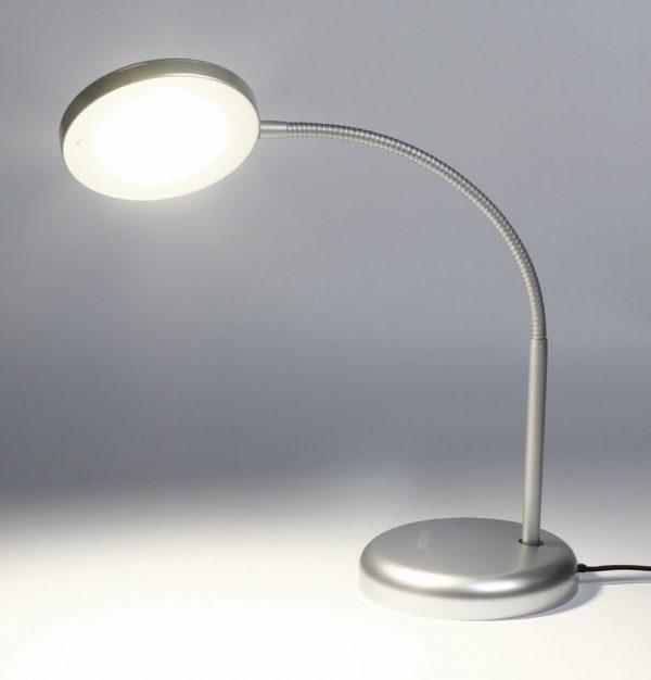 Светодиодный наст. светильник (LED) Smartbuy 7W/NW/Sil 2