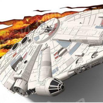 Светильник 3D Star Wars Millennium Falcon