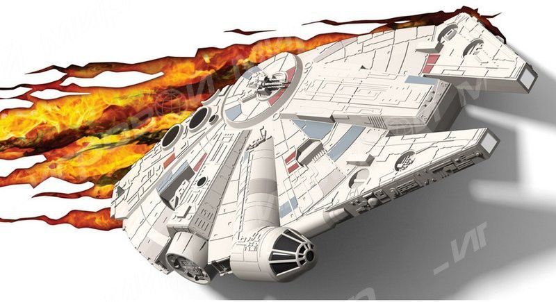 Светильник 3D Star Wars Millennium Falcon