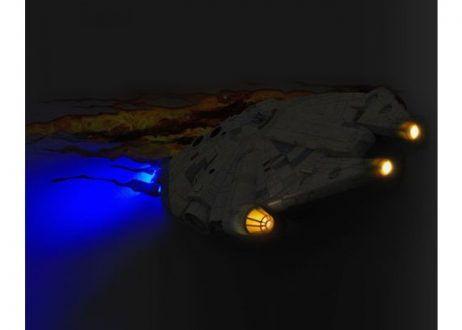 Светильник 3D Star Wars Millennium Falcon_1
