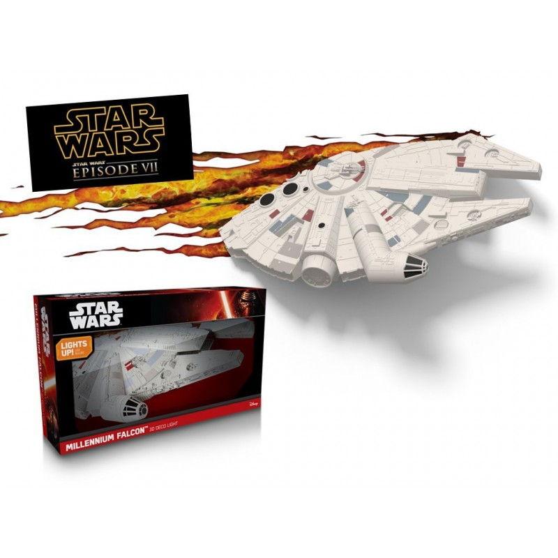 Светильник 3D Star Wars Millennium Falcon_2