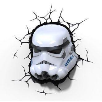 Светильник 3D Star Wars Storm Trooper