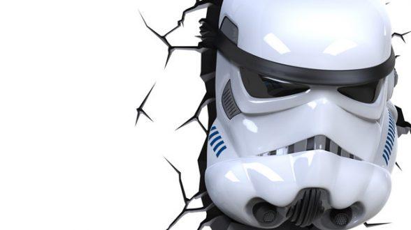 Светильник 3D Star Wars Storm Trooper_4