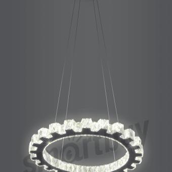 Светодиодная люстра (LED) Smartbuy Crystal 1601-25W/4K