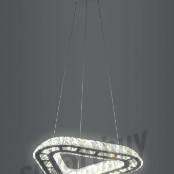 Светодиодная люстра (LED) Smartbuy Crystal 163-23W/4K