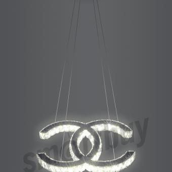 Светодиодная люстра (LED) Smartbuy Crystal 4015-25W/4K