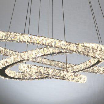 Светодиодная люстра (LED) Smartbuy Crystal 4003-55W/4K