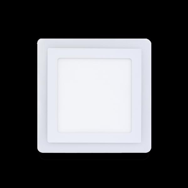 Накладной (LED) светильник квадрат с подсветкой DLB Smartbuy 6