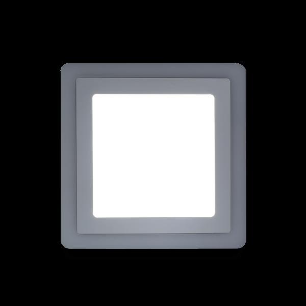 Накладной (LED) светильник квадрат с подсветкой DLB Smartbuy 5