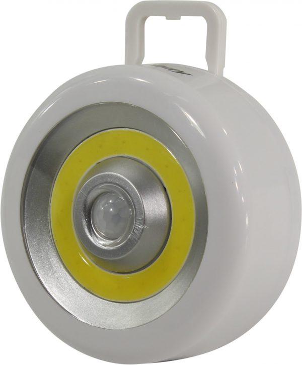 Светодиодный фонарь Smartbuy с датчиком движения и света 3 Вт COB 1