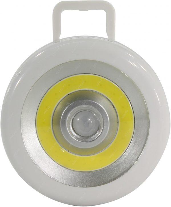 Светодиодный фонарь Smartbuy с датчиком движения и света 3 Вт COB 2