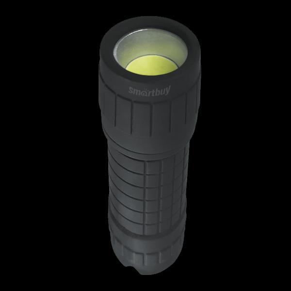 Светодиодный резиновый фонарь 1 Вт COB LED Smartbuy 1