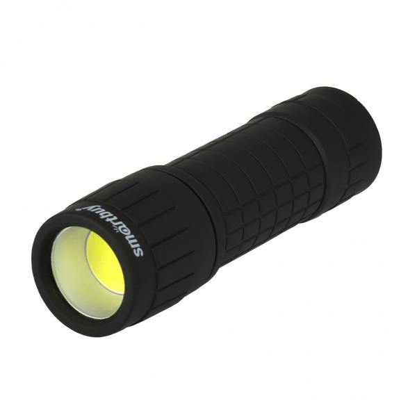 Светодиодный резиновый фонарь 1 Вт COB LED Smartbuy 2