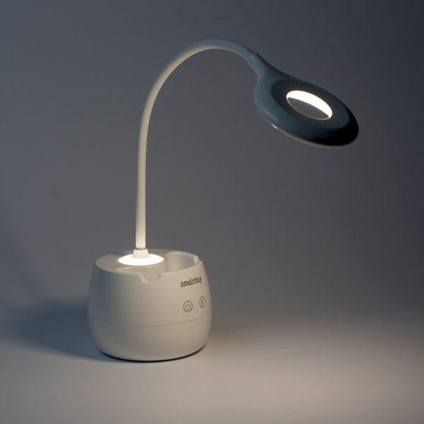 Светодиодный настольный светильник (LED) Smartbuy-5W /White 3069 3