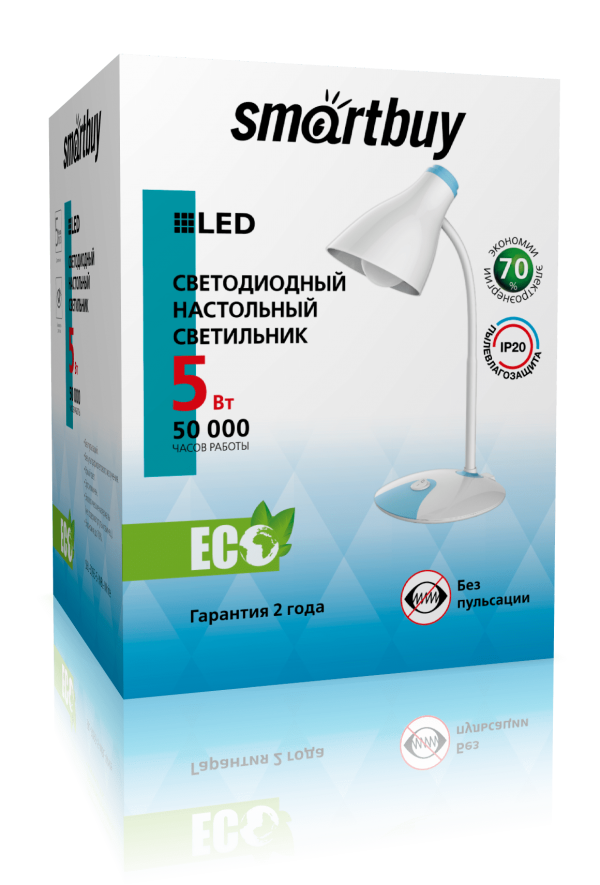 Светодиодный настольный светильник (LED) Smartbuy 3093 6