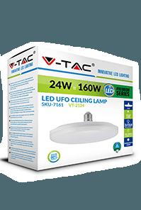 Светодиодная лампа V-TAC UFO F150, F200 E27 1