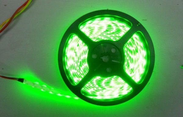 Светодиодная лента жёлтая, зелёная, синяя, красная V-TAC 9,6 Вт/м (60 д/м), 5 м.п., 1000 lm/m, 12V, IP20 2
