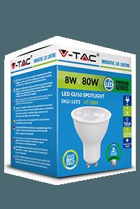 Светодиодная лампа с линзой V-TAC GU10 1
