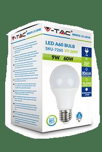 Светодиодная лампа V-TAC A60 E27 2