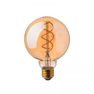 Филаментная лампа V-TAC G95 ЯНТАРНОЕ СТЕКЛО Е27