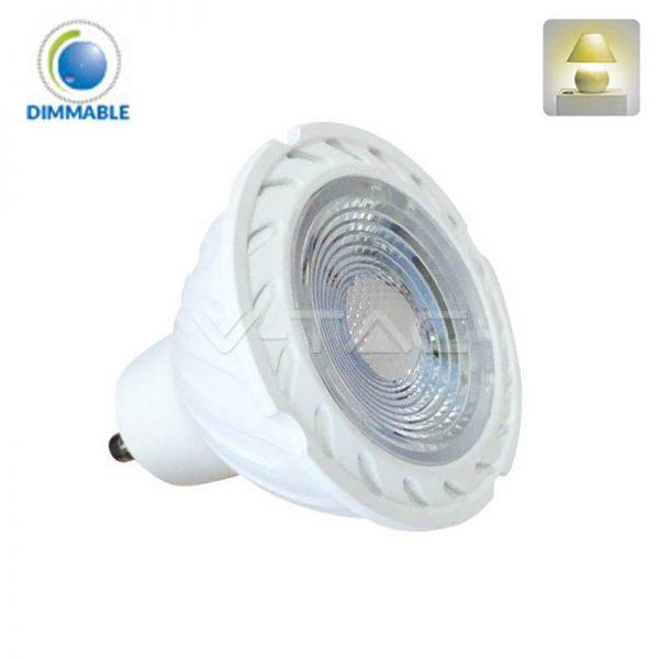 Светодиодная лампа диммируемая с линзой V-TAC GU10, Samsung 1