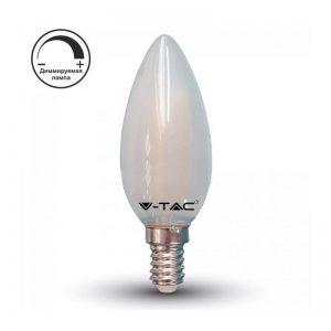 лампочка светодиодная матовая