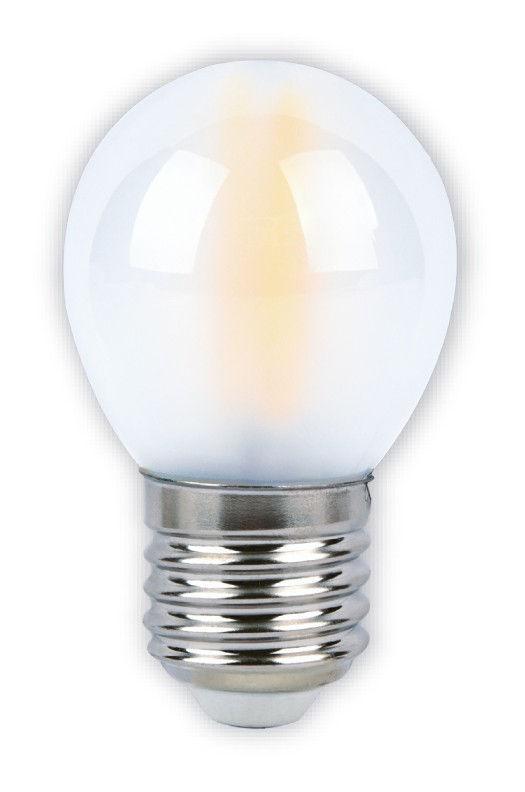 Светодиодная (LED)FIL Матовая Лампа Smartbuy-G45-07W/4000/E27 1