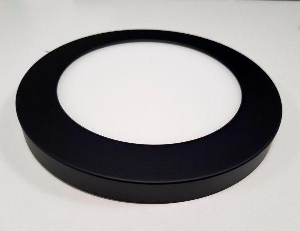 накладной корпус на светильник потолочный черного цвета