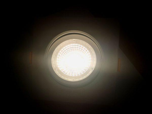 Точечный светильник светодиодный встраиваемый поворотный направленного света, квадратный 4000K 4