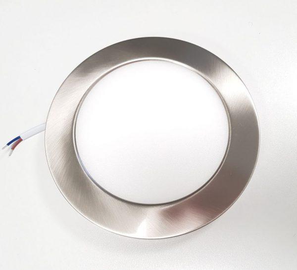 накладной корпус на светильник потолочный цвета сатин