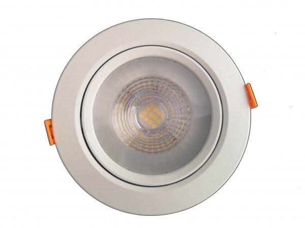 встраиваемый светильник круглый
